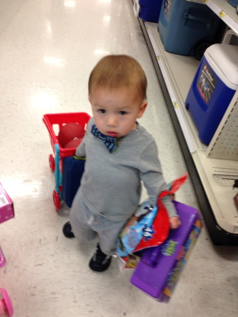 Shopping on New Year's Day at Target is also a great way to start 2013.  :)